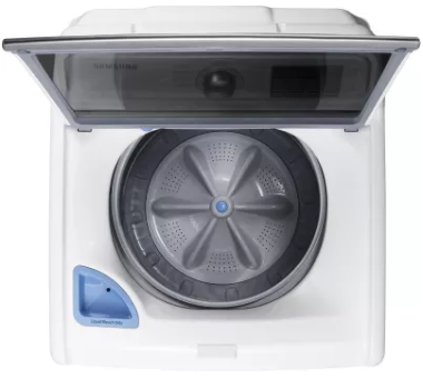 """WA45M7050AW Samsung 27"""" 4.5 Cu. Ft. Top Load Washer with VRT Plus Technology and Self Clean - White"""