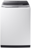 """WA52M8650AW Samsung 27"""" 5.2 cu. ft. Top Load Washer with ActiveWash and Integrated Controls - White"""