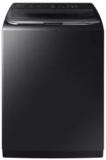 """WA54M8750AV Samsung 27"""" Top Load Washer 5.4 cu. ft. High-Efficiency Top Load Washer with Activewash and Steam - Black"""