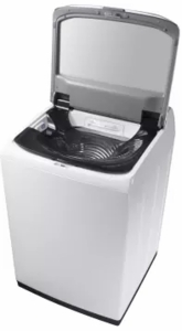 "WA54M8750AW Samsung 27"" Top Load Washer 5.4 cu. ft. High-Efficiency Top Load Washer with Activewash and Steam - White"