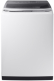 """WA54M8750AW Samsung 27"""" Top Load Washer 5.4 cu. ft. High-Efficiency Top Load Washer with Activewash and Steam - White"""