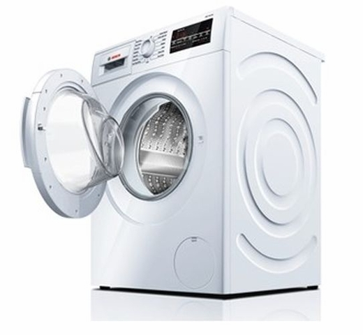 "WAT28400UC Bosch 300 Series 24"" Compact Washer - White"
