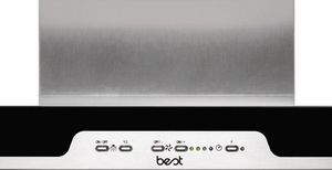 """WC34E90SB Best Eclisse 35-7/16"""" Stainless Steel Chimney Range Hood with a choice of Exterior or In-line Blowers"""