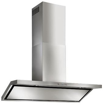 "WC46E90SB Best Circeo 35-7/16"" Stainless Steel Chimney Range Hood with External Blower Options"