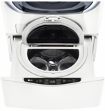 "WD200CW LG 29"" SideKick 1.0 Cu. Ft. 6-Cycle High-Efficiency Pedestal Washer - White"