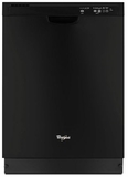 WDF520PADB Whirlpool Dishwasher with AnyWare Plus Silverware Basket - Black