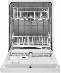WDF520PADW Whirlpool Dishwasher with AnyWare Plus Silverware Basket - White