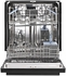 WDF550SAAB Whirlpool Dishwasher with Stainless Steel Tall Tub - Black