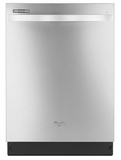 WDT720PADM Whirlpool Dishwasher with Silverware Spray - Monochromatic Stainless Steel
