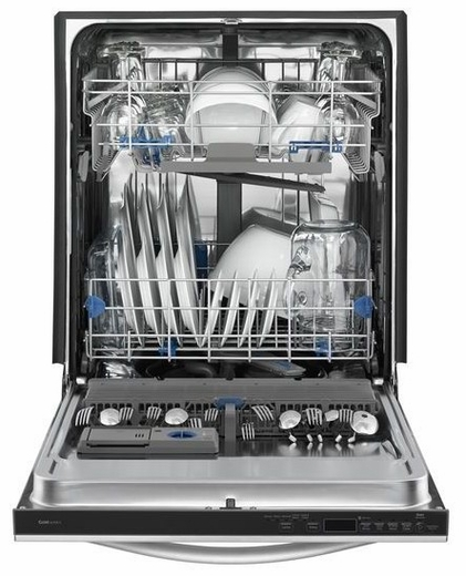 WDT920SADE Whirlpool Gold Dishwasher with TotalCoverage Spray Arm - Black Ice