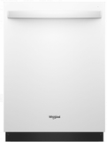 "WDT970SAHW Whirlpool 24"" Undercounter Dishwasher with Sani Rinse and Third Rack - White"
