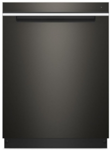 "WDTA50SAHV Whirlpool 24"" Built In Fully Integrated Dishwasher with 5 Wash Cycles and Heated Dry Option - Black Stainless Steel"