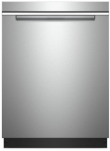 "WDTA50SAHZ Whirlpool 24"" Built In Fully Integrated Dishwasher with 5 Wash Cycles and Heated Dry Option - Fingerprint Resistant Stainless Steel"