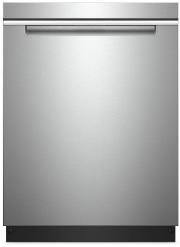 """WDTA50SAHZ Whirlpool 24"""" Built In Fully Integrated Dishwasher with 5 Wash Cycles and Heated Dry Option - Fingerprint Resistant Stainless Steel"""