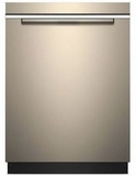 "WDTA75SAHN Whirlpool 24"" Smart Dishwasher with Sensor Cycle and TotalCoverage Spray Arm - Fingerprint Resistant Sunset Bronze"