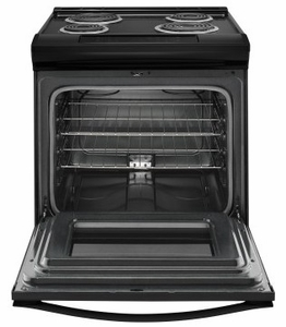 "WEC310S0FB 30"" Whirlpool 4.6 cu. ft. Slide-In Electric Range with Sabbath Mode - Black"