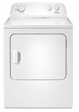 WED4616FW Whirlpool 7.0 cu. ft. Front Load Electric Dryer with Wrinkle Shield Option - White
