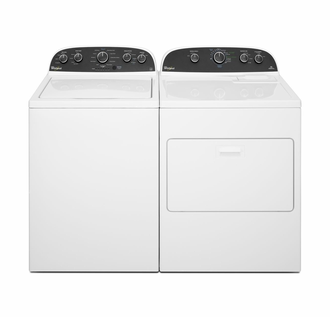 WED4850BW Whirlpool 7 0 cu  ft  HE Electric Dryer with