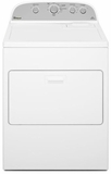 WED4915EW Whirlpool 7.0 cu. ft.  Electric Dryer with Cool Down Cycle - White