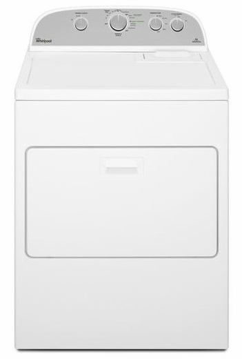 WED5000DW Whirlpool 7.0 cu. ft. Cabrio High-Efficiency Electric Dryer - White