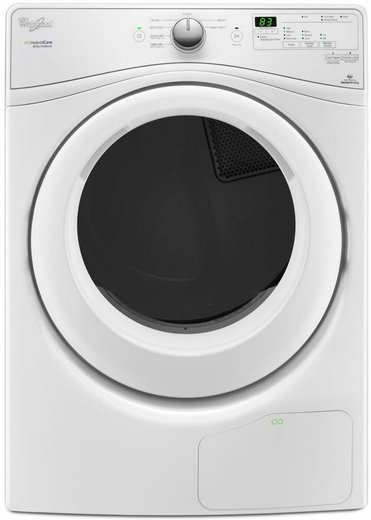WED7990FW Whirlpool 7.4 Cu. Ft. Electric Dryer with True Ventless Heat Pump - White