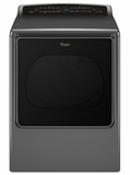 WED8700EC Whirlpool 8.8 cu. ft. Smart Cabrio Large Capacity Dryer with Laundry App - Chrome Shadow