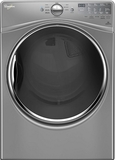 WED90HEFC Whirlpool 7.4 Cu. Ft. Electric Dryer with Advanced Moisture Sensing System - Chrome Shadow