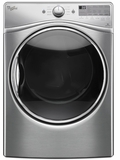 WED92HEFU Whirlpool 7.4 Cu. Ft. Electric Dryer with Stainless Steel Drum - Diamond Steel