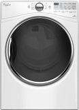 WED92HEFW Whirlpool 7.4 Cu. Ft. Electric Dryer with Stainless Steel Drum - White