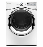 WED94HEAW Whirlpool 7.4 cu. ft. Duet Electric Dryer with Advanced Moisture Sensing - White