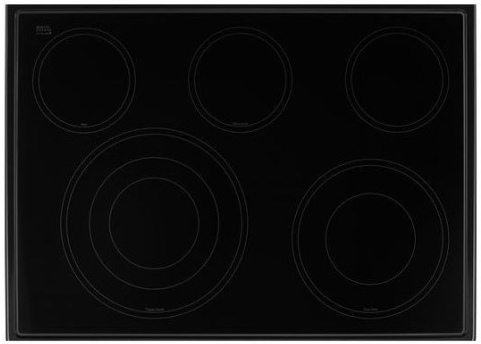"WEE745H0FE Whirlpool 30"" Slide-In Electric Range with 5 Cooking Elements and 8,600 Watt Cooktop, 6.4 cu. ft. Convection Oven - Black Ice"