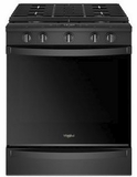 """WEG750H0HB Whirlpool 30"""" Smart Slide-In Electric Range with Frozen Bake Technology and True Convection Cooking - Black"""