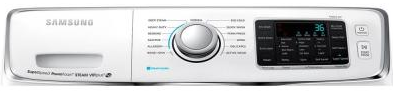 WF45H6300AW Samsung 4.5 cu. ft. Capacity Front Load Washer with SuperSpeed - White