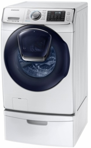 """WF45K6500AW Samsung 27"""" Front Load Steam Washer with Smart Care and VRT Plus Technology - White"""