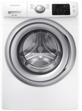 "WF45N5300AW Samsung 27"" Front Load 4.5 cu. ft. Washer with VRT Plus Capacity Technology and Smart Care - White"