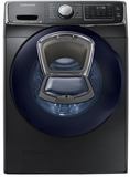 WF50K7500AV Samsung Front Load Washer with AddWash & Super Speed - Black Stainless Steel
