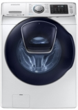 "WF50K7500AW Samsung 27"" 5.0 cu. ft. Capacity Front-Load Washer with Super Speed, AddWash and  14 Preset Wash Cycles - White"