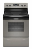 WFE515S0ED Whirlpool 5.3 Cu. Ft. Freestanding Electric Range with Easy Wipe Cooktop - Universal Silver