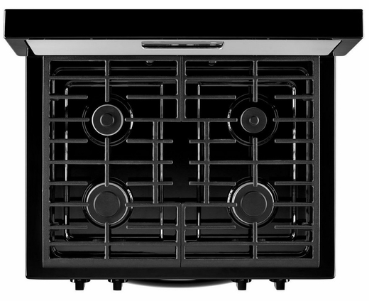 "WFG302M0BW Whirlpool 5.1 cu. ft. Freestanding 30"" Gas Range with Under-Oven Broiler -White"