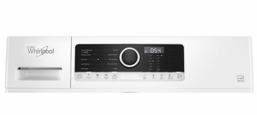 "WFW3090GW  Whirlpool 24"" Compact Front Load Washer with TumbleFresh Option and Guided Mode  - White"