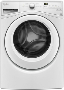 WFW7590FW Whirlpool 4.2 Cu. Ft. Front Load Washer with Adaptive Wash Technology - White