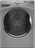 WFW90HEFC Whirlpool 4.5 Cu. Ft. Front Load Washer with Precision Dispense - Chrome Shadow