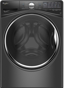 WFW92HEFBD Whirlpool 4.5 Cu. Ft. Front Load Washer with Steam Clean Option - Black Diamond