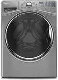 WFW92HEFC Whirlpool 4.5 Cu. Ft. Front Load Washer with Steam Clean Option - Chrome Shadow