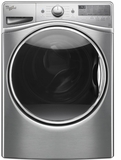 WFW92HEFU Whirlpool 4.5 Cu. Ft. Front Load Washer with Steam Clean Option - Diamond Steel