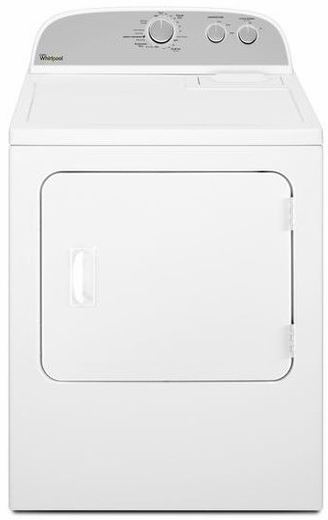 WGD4815EW Whirlpool 7.0 cu. ft. Gas Dryer with Heavy Duty Cycle & AutoDry - White