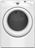 "WGD7590FW Whirlpool 27"" 7.4 cu. ft. Gas Dryer with 6 Dry Cycles Advanced Moisture Sensing System and Long Vent - White"