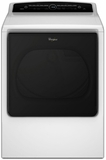 WGD8000DW Whirlpool 8.8 Cu. Ft. Cabrio Gas Dryer with Quad Baffles - White