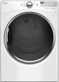 "WGD90HEFW Whirlpool 27"" 7.4 cu. ft. Gas Dryer with 9 Dry Cycles, Advanced Moisture Sensing System - White"
