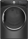 "WGD92HEFBD Whirlpool 27"" 7.4 cu. ft. Gas Dryer with 10 Dry Cycles Advanced Moisture Sensing System - Black"